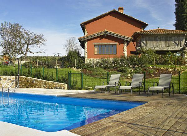Casas rurales asturias con piscina for Piscinas asturias