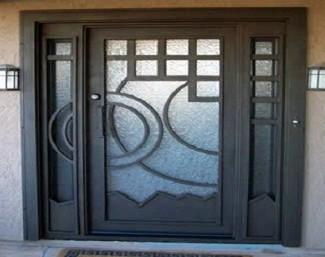 Puertas de hierro for Imagenes de puertas de hierro