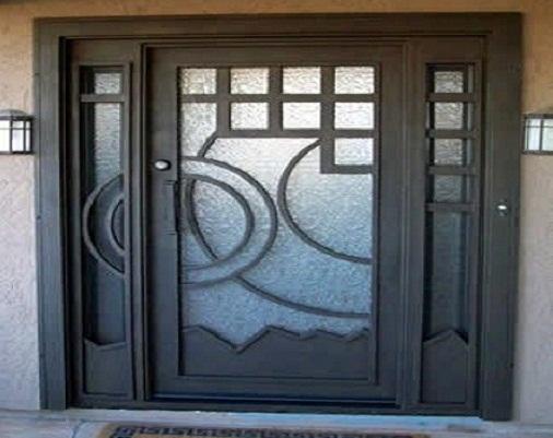 Puertas de hierro - Puertas de herreria para entrada principal ...
