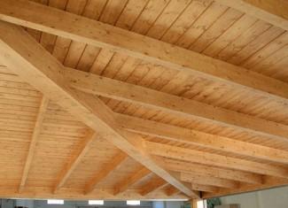 Techos internos de madera