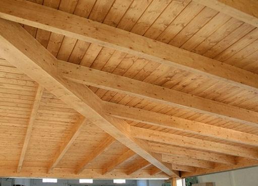 Techos internos de madera - Techos de maderas ...