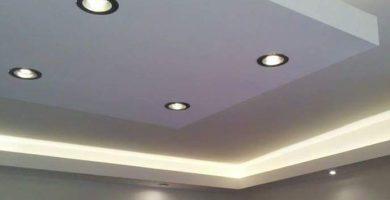 ejemplo de techos de yeso