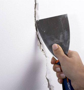 reparar paredes rajadas o agrietadas