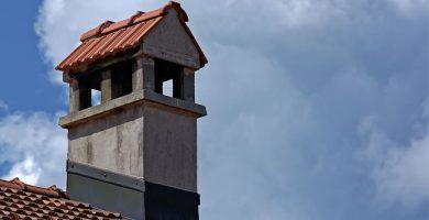 Reparación de chimenea