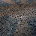 Patio de adoquín - arquitectura21