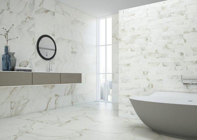 Únicas variaciones de granito y suelos de mármol - arquitectura21