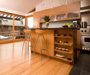 Limpieza de pisos de madera