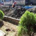 construcción de drenajes
