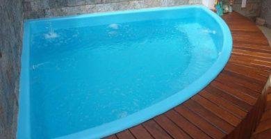 Piscinas de fibra de vidrio para la vivienda y la construccion