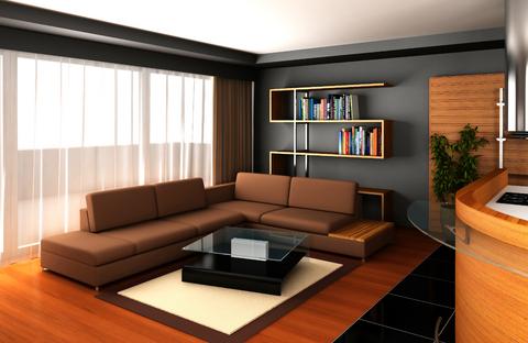 living con sofa